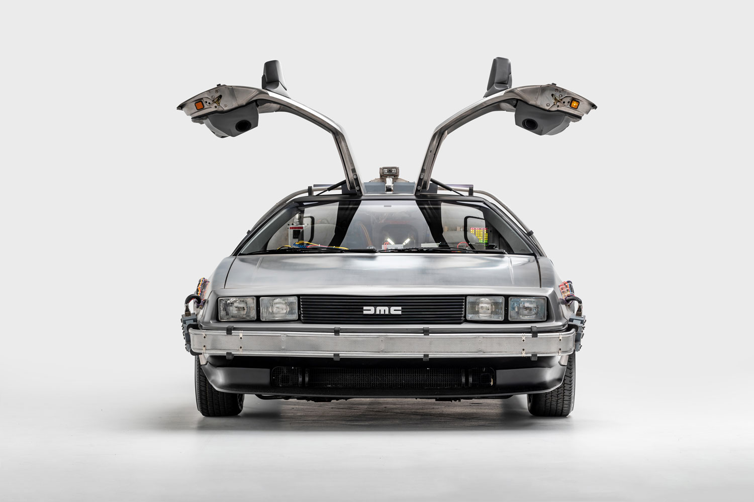 "1981 DeLorean ""Time Machine"" from Back to the Future"