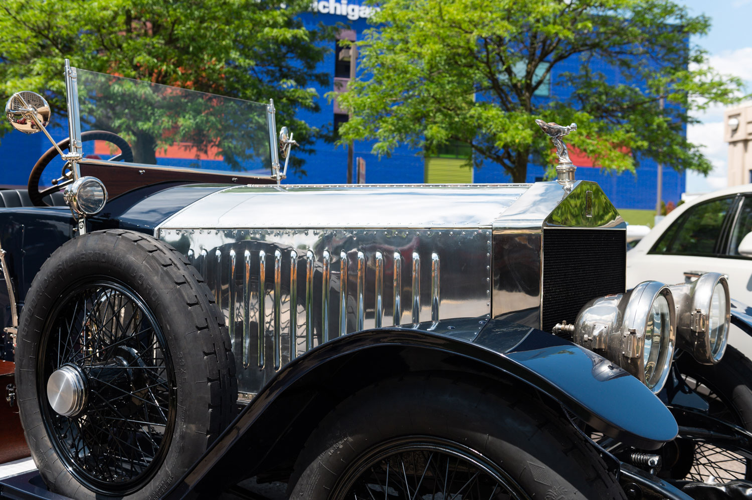1920 Rolls Royce British Silver Tourer