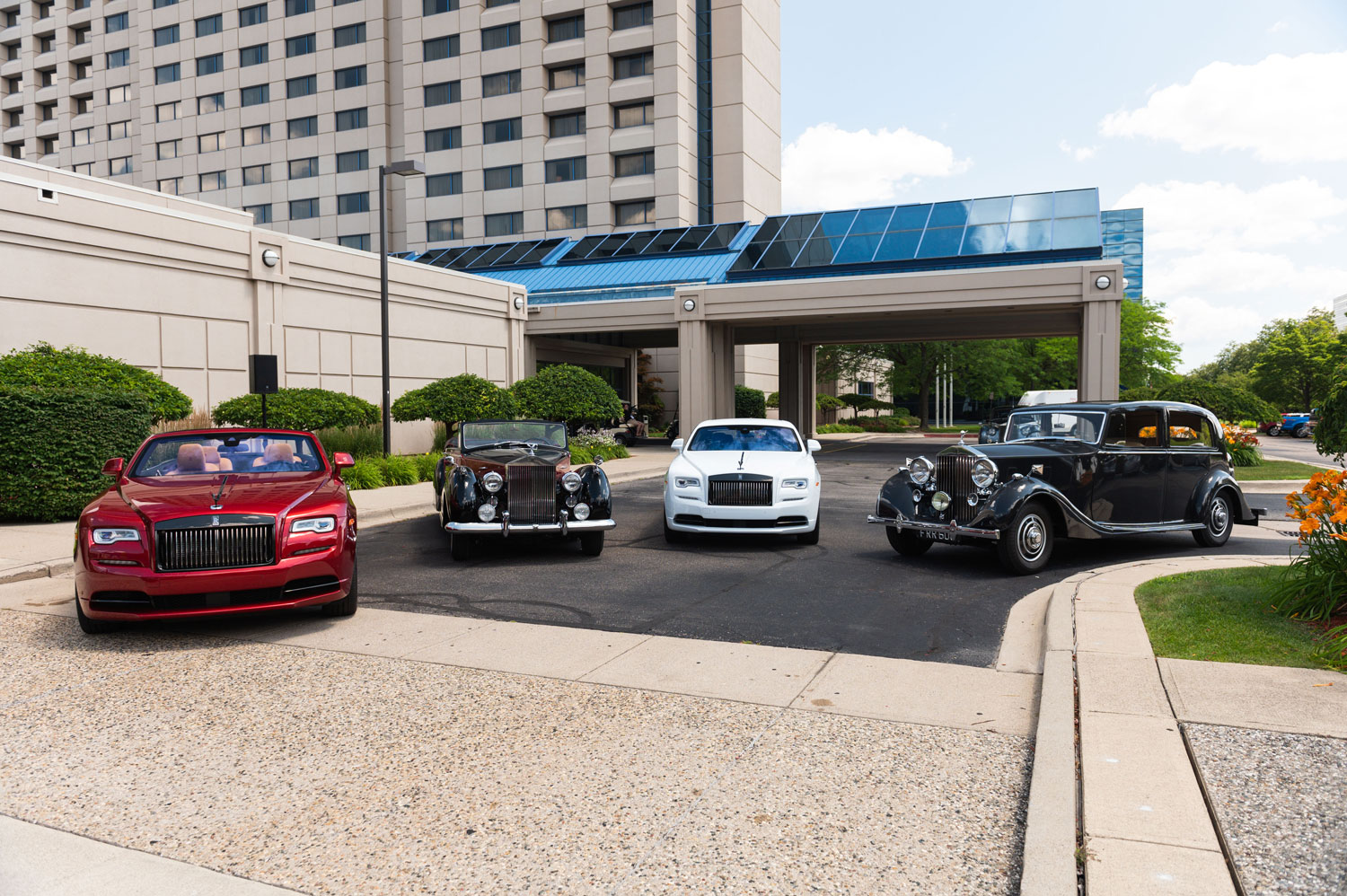 Rolls Royce Group Shot