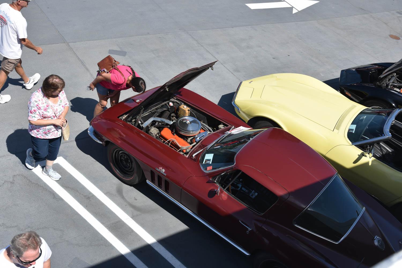 Corvette overhead