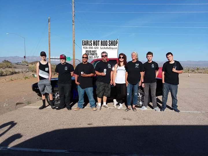 Group Shot Keeping Hot Rodding Alive