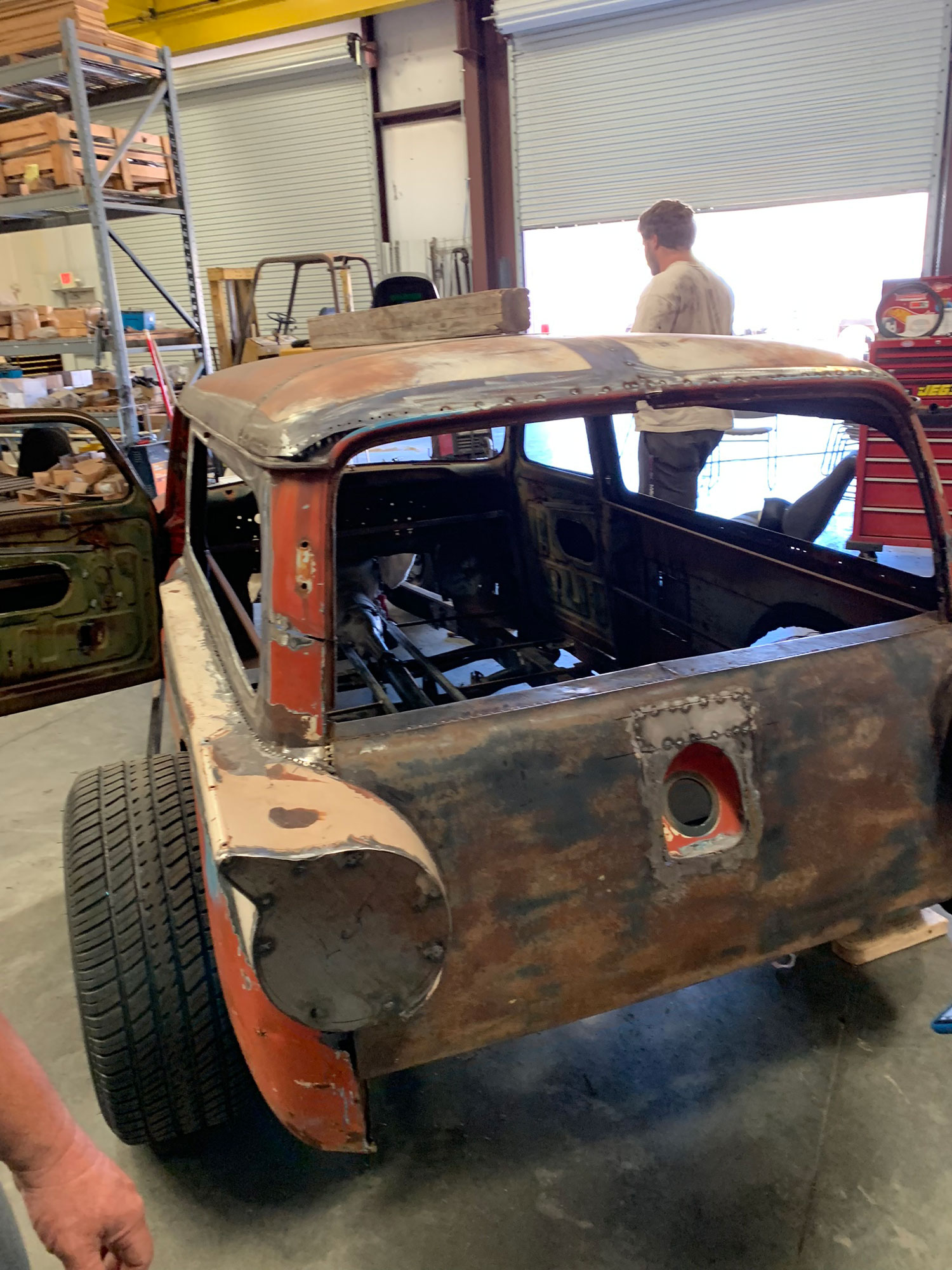 Hot Rod Youth chop top