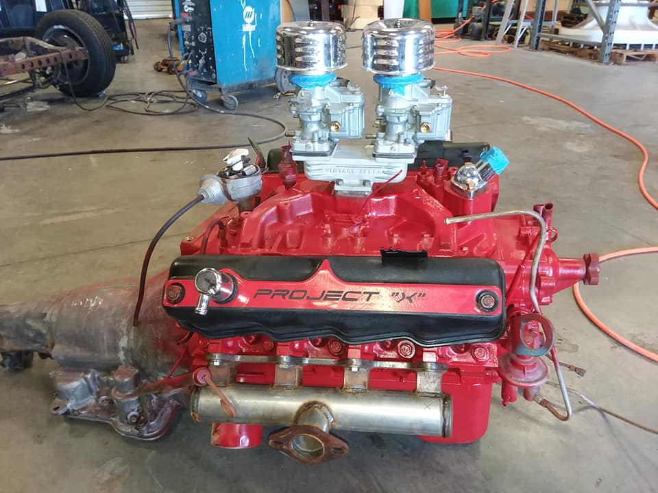 Project X engine block