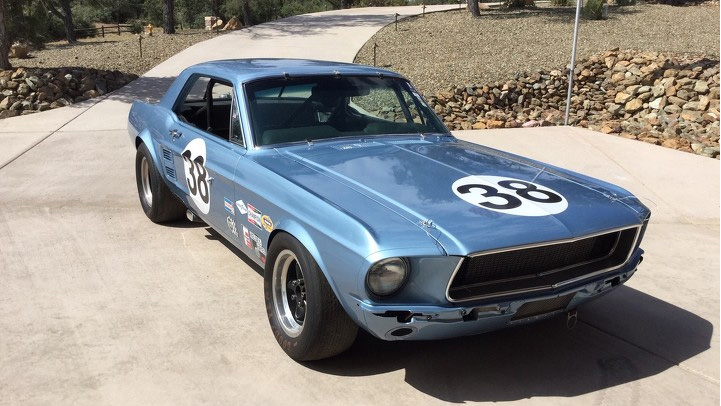 1967 Ford Mustang TransAm Car