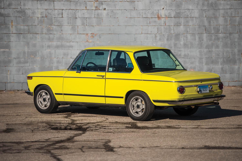 1972 BMW 2002 rear 3/4