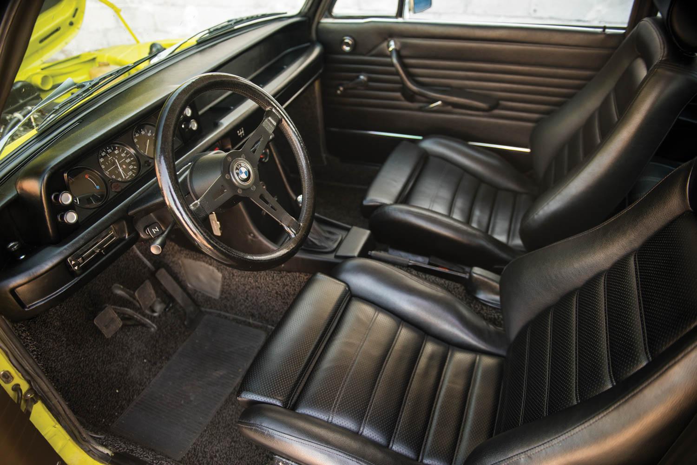 1972 BMW 2002 interior
