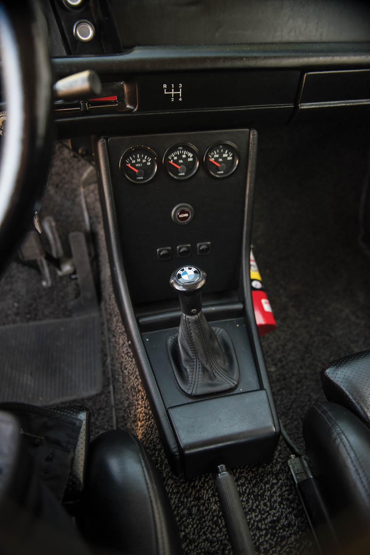 1972 BMW 2002 shifter
