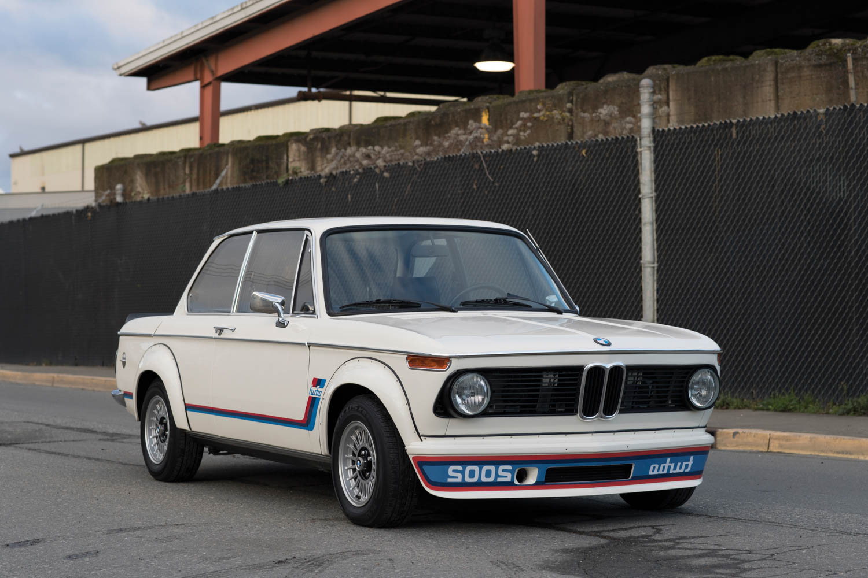 1974 BMW 2002 Turbo front 3/4