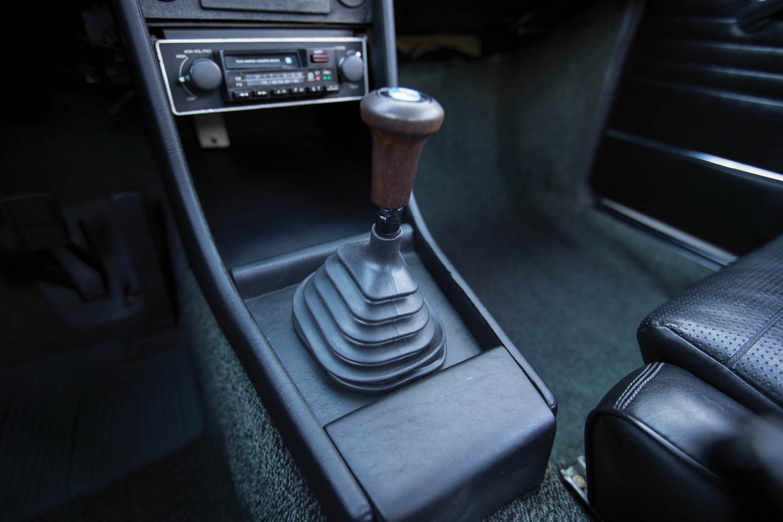 1974 BMW 2002 Turbo shifter