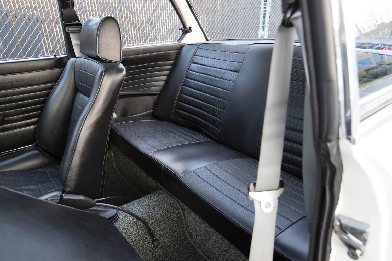 1974 BMW 2002 Turbo back seat