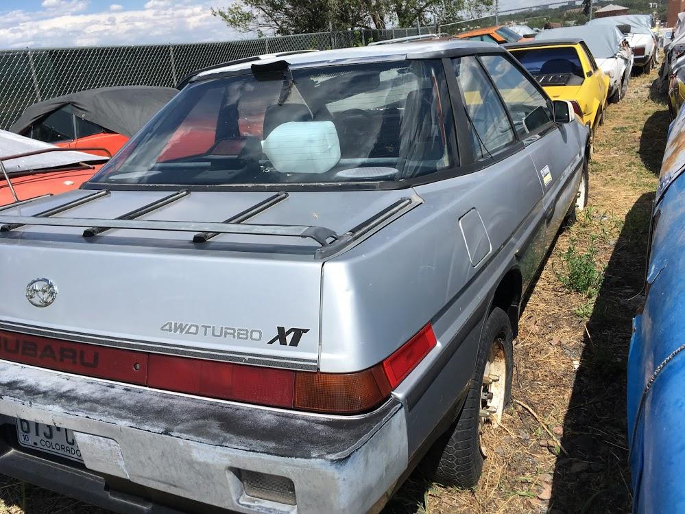 1986 Subaru XT 6 Turbo