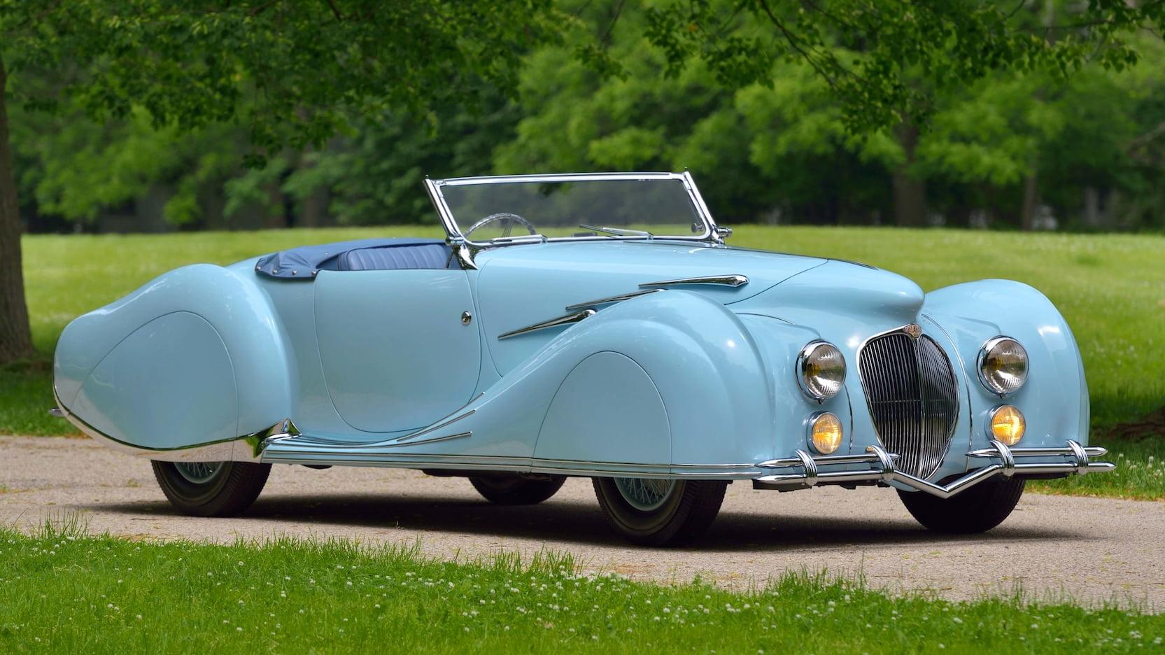 1947 Delahaye 135MS Narval Cabriolet