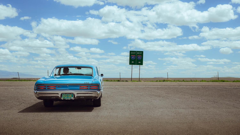 1967 Pontiac GTO rear