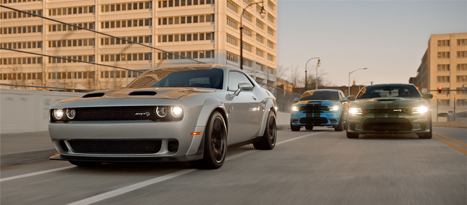 2019 Dodge Challenger, Charger, and Durango