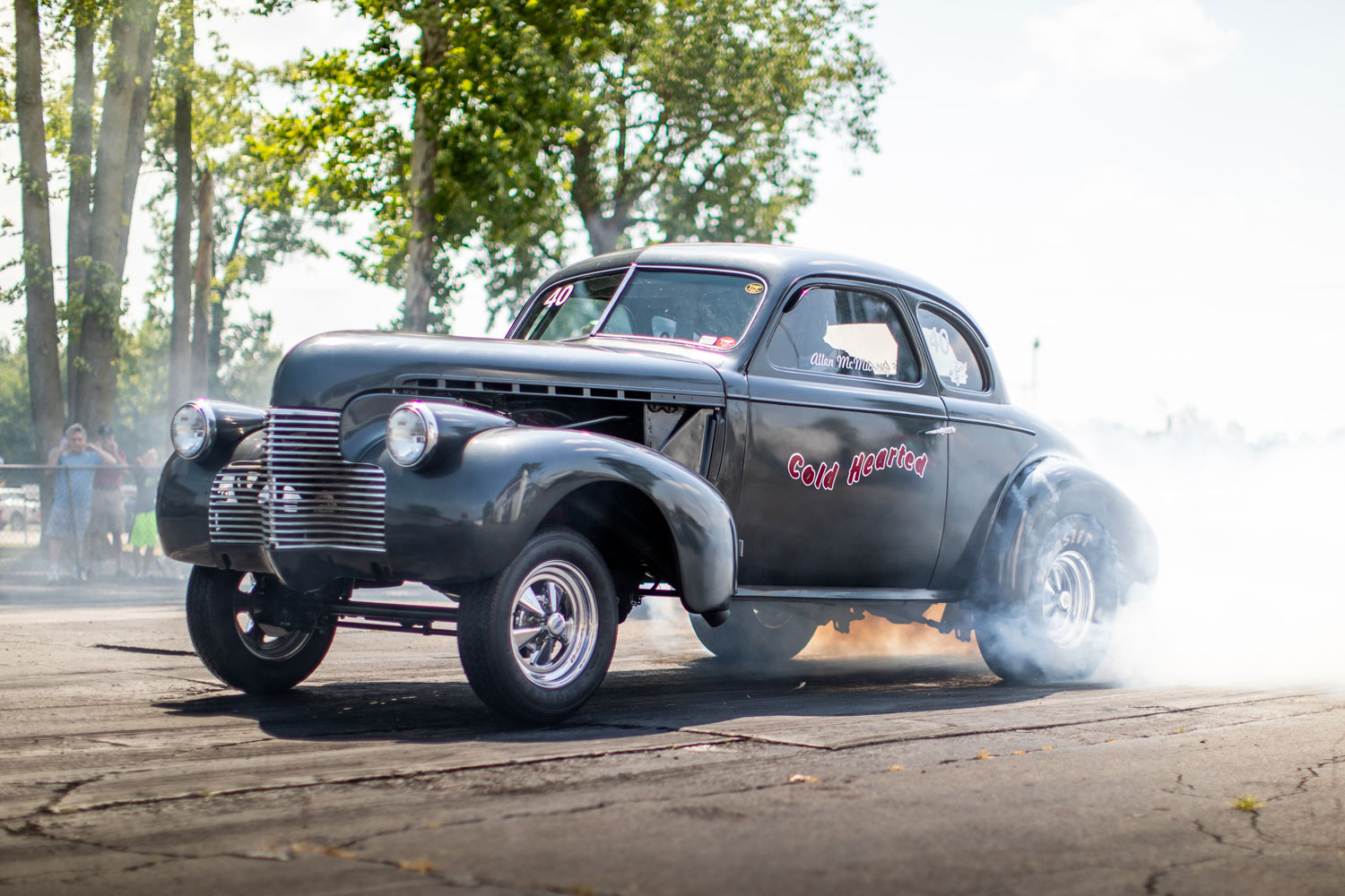 Chevy coupe gasser