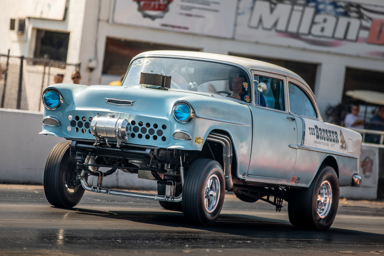 1955 Chevy Drag Car