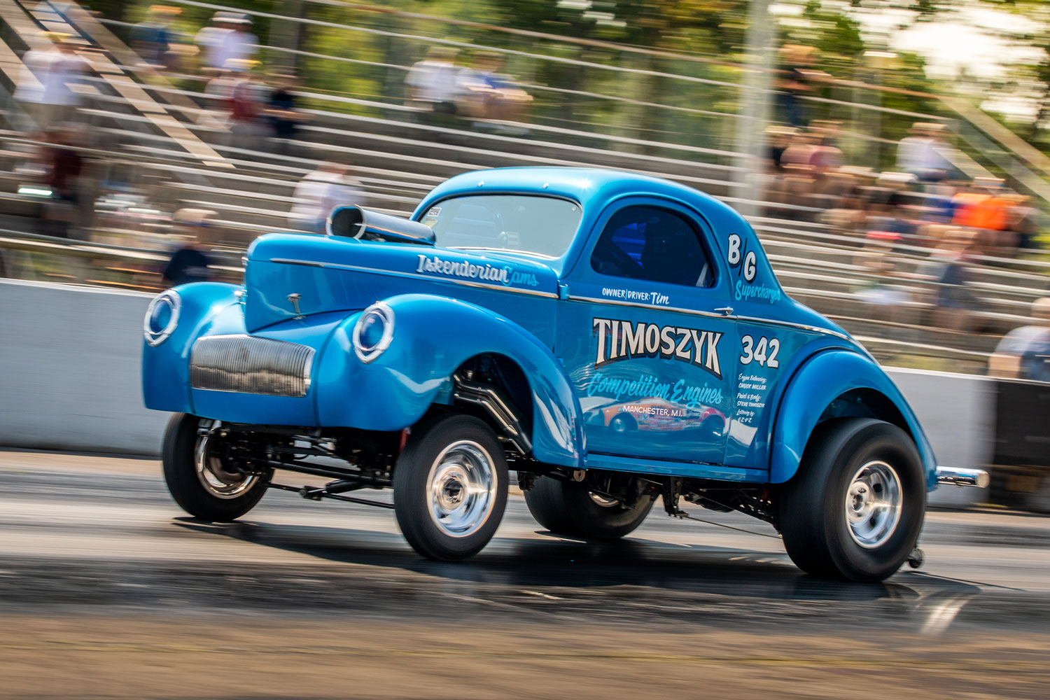 Tim Timoszyk's 1942 Willys Drag Car