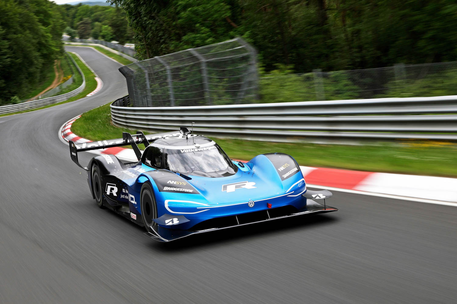 Electric record Nürburgring-Nordschleife