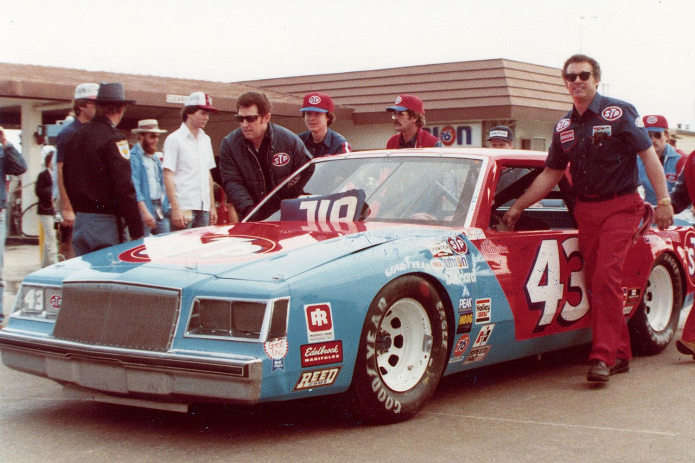 Richard Petty at the 1981 Daytona 500