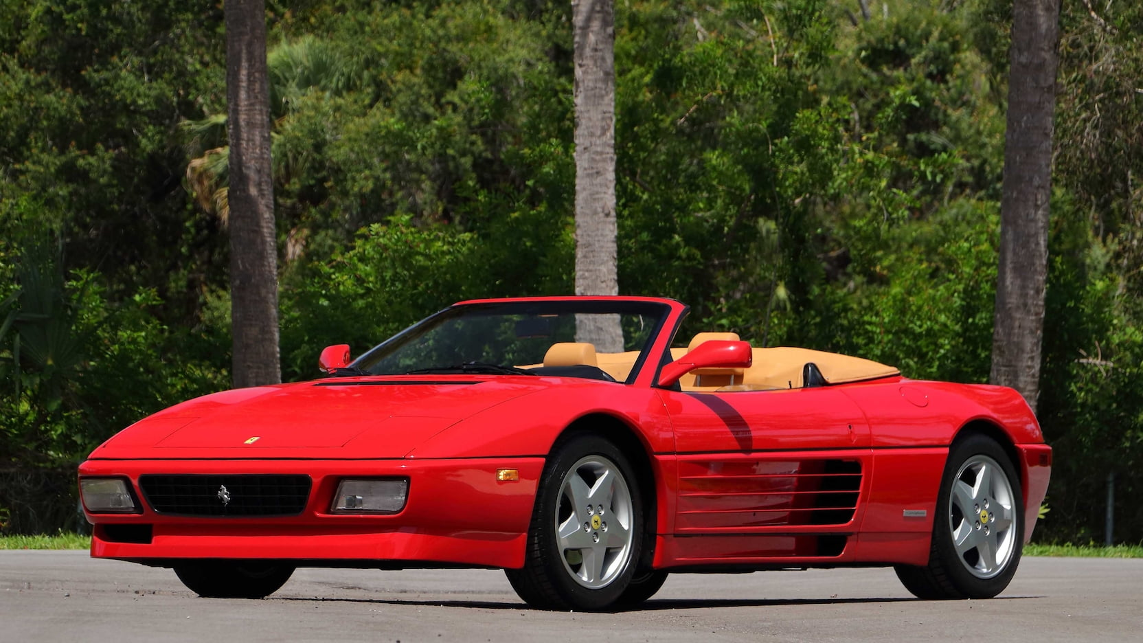 The 1989–95 Ferrari 348 is spinning its wheels in the market thumbnail