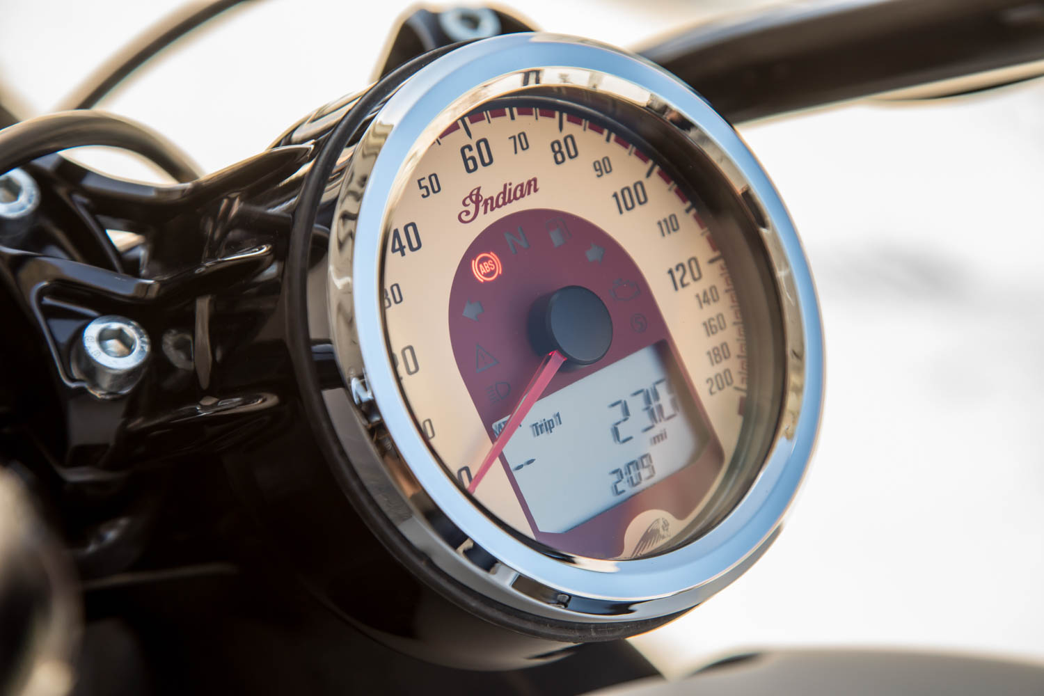 classic motorcycle gauges