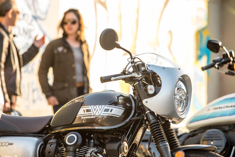 retro motorcycle show