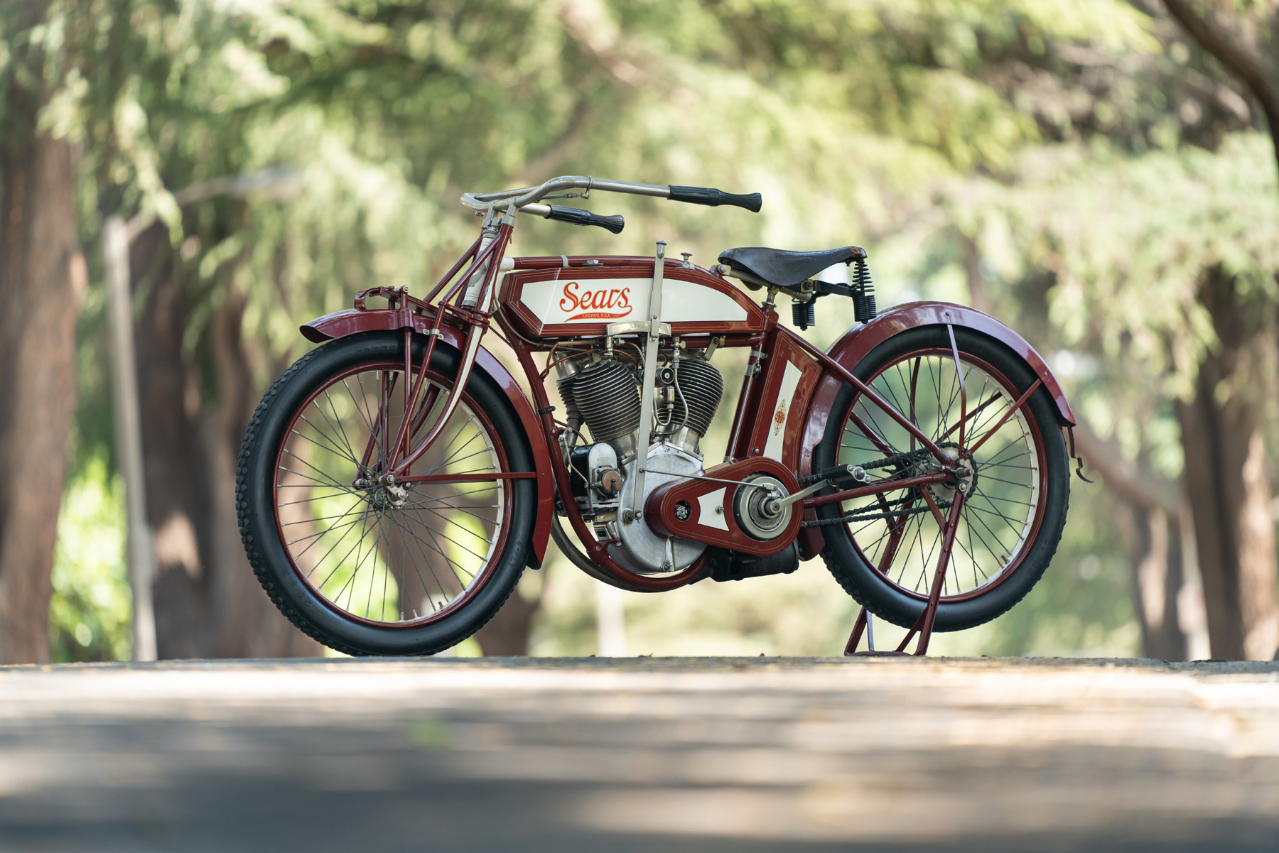 1912 Sears Dreadnaught V-twin