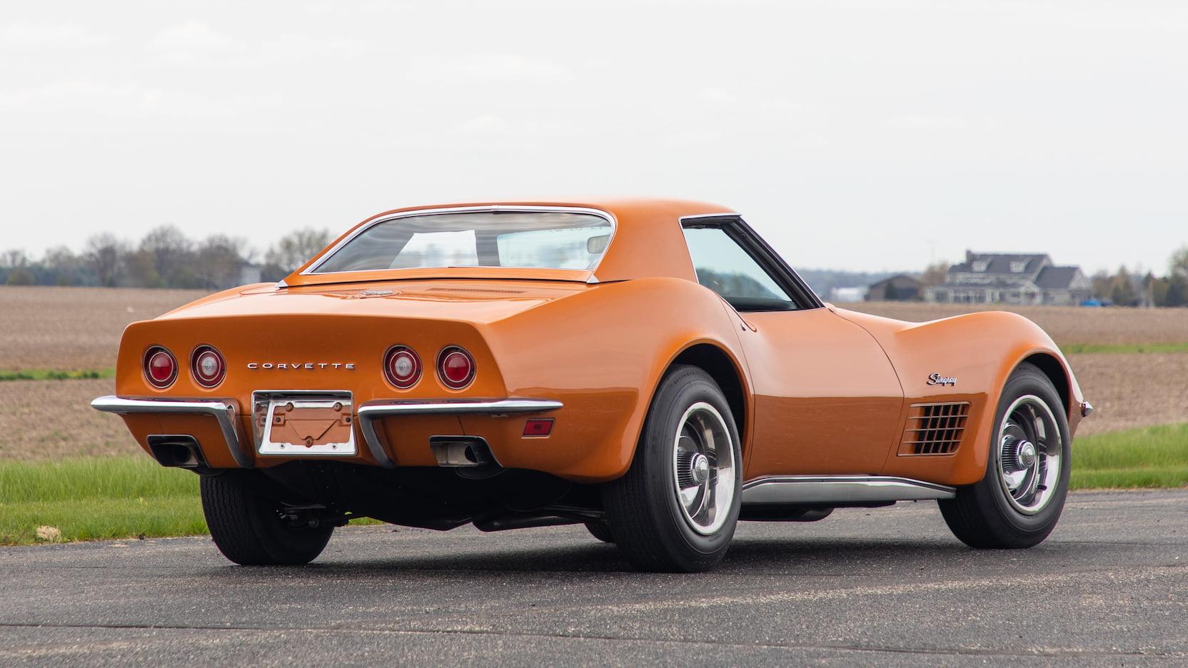 1971 Chevrolet Corvette ZR2 rear 3/4