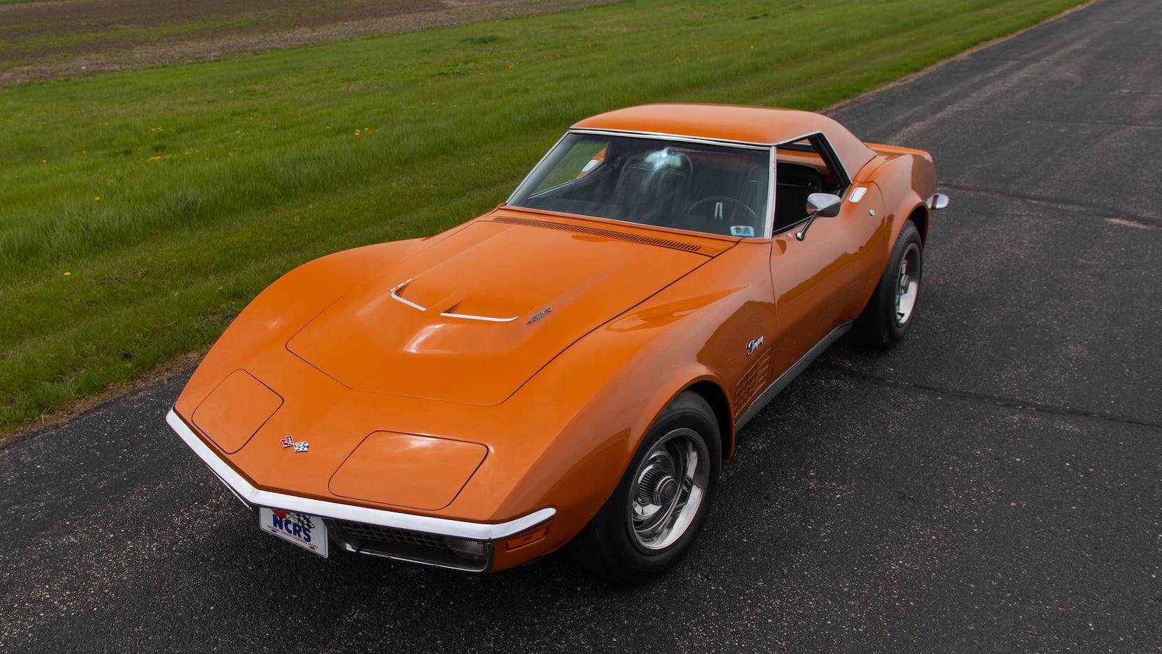 1971 Chevrolet Corvette ZR2 overhead