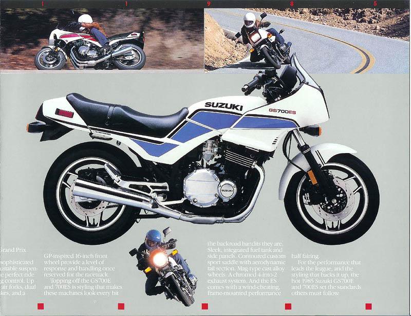 1985 Suzuki GS700ES
