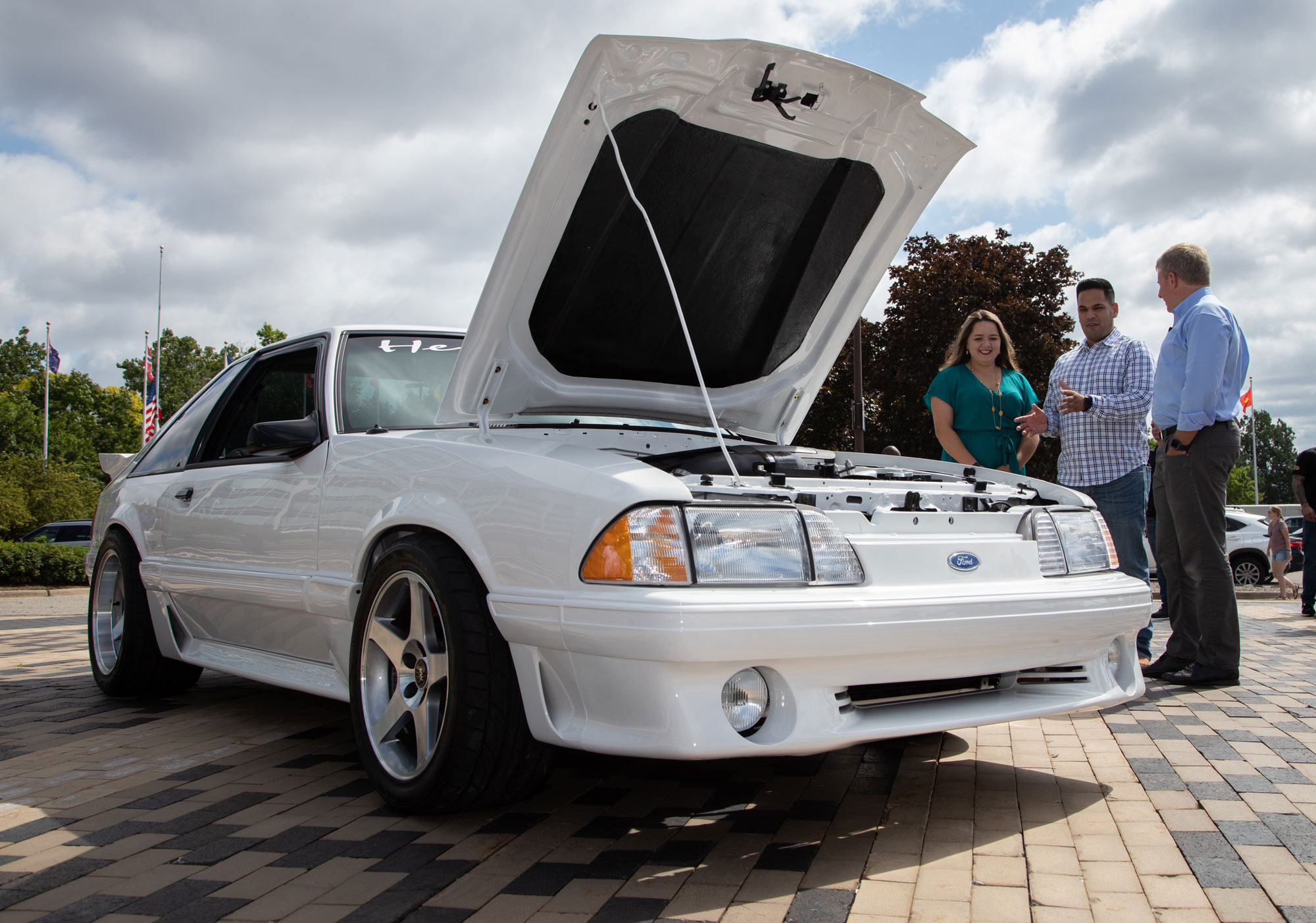 Ford Mustang restored