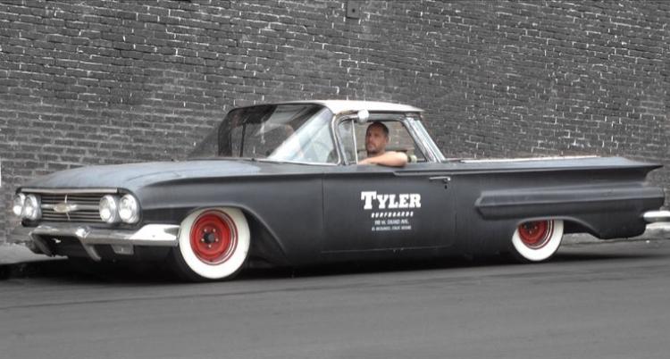 Tyler surfboards car