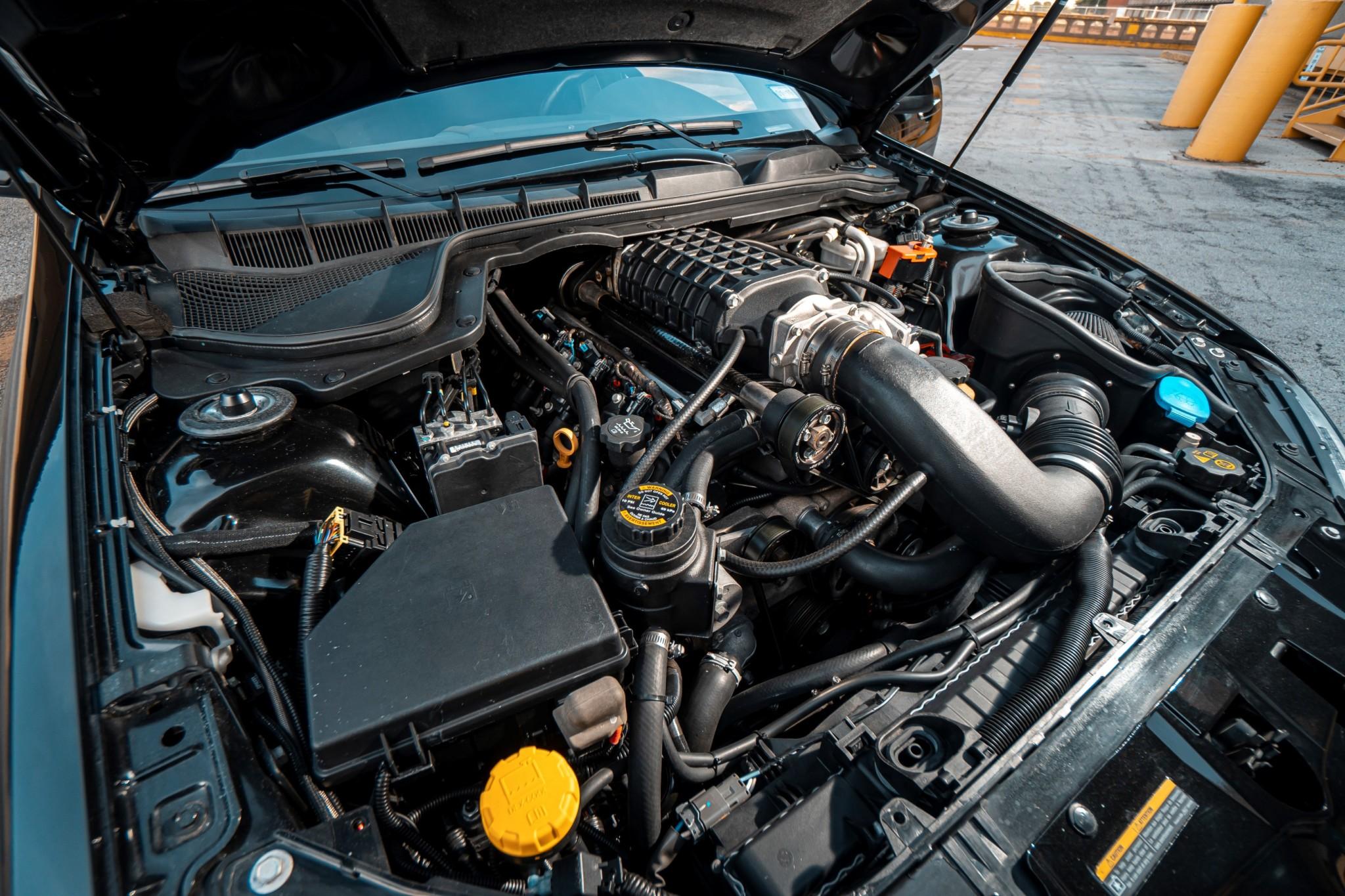 2008 Pontiac G8 SLP Firehawk Tribute engine