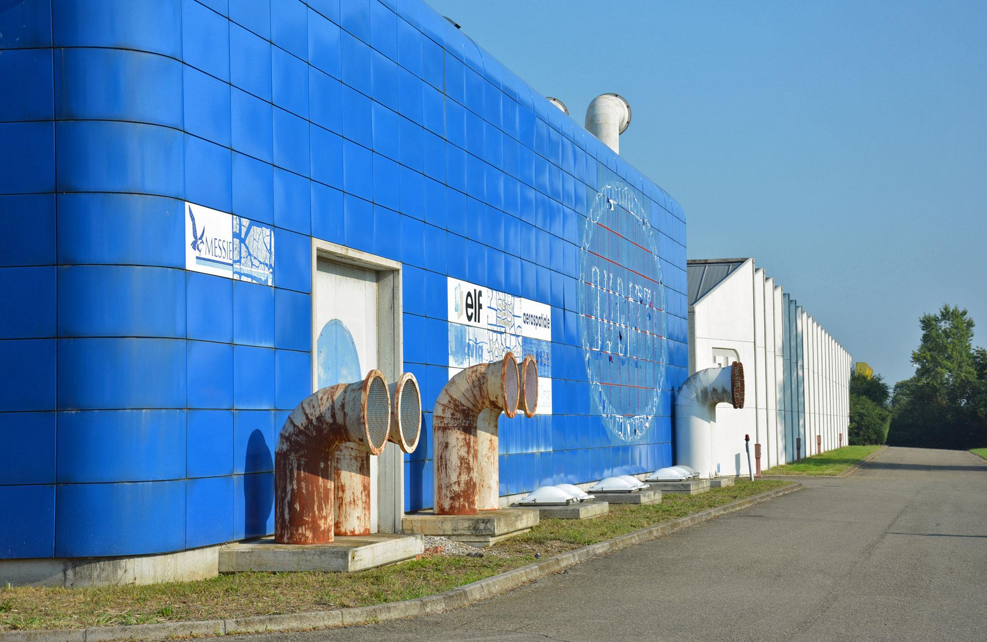 old Bugatti factory