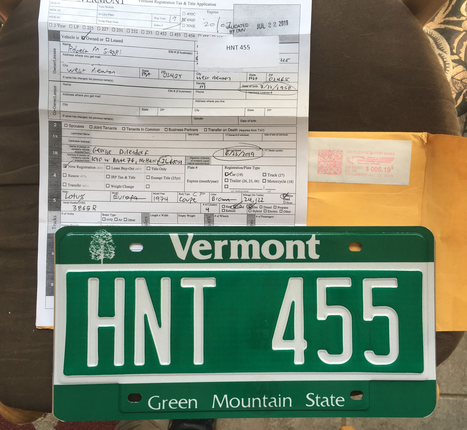 Answering Questions About The Lotus And The Vermont Loophole