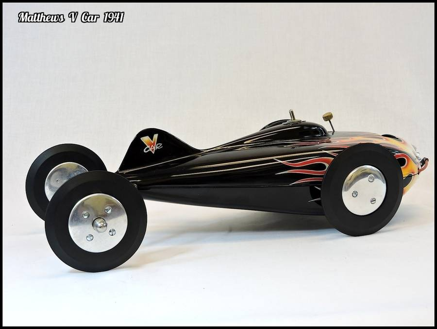 1941 Matthews V Tether Car