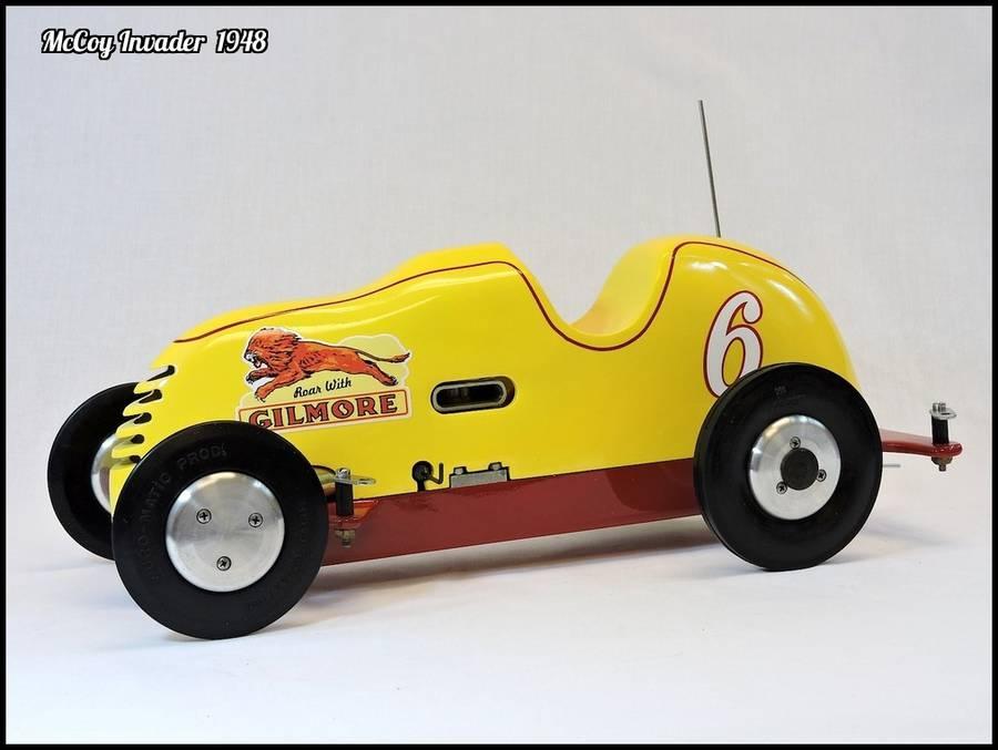 1948 McCoy Invader Gilmore Tether Car