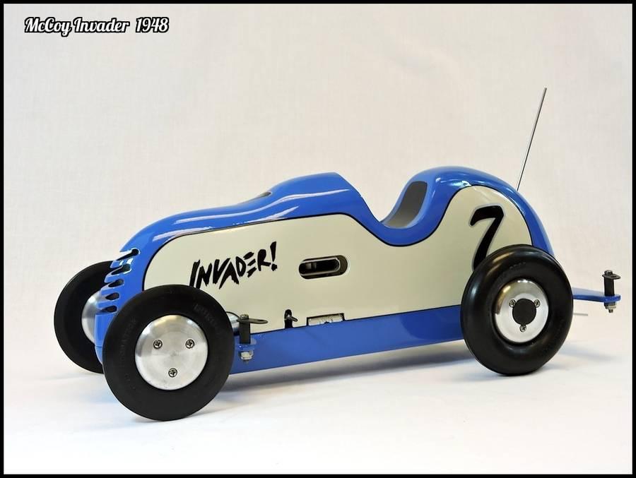 1948 McCoy Invader Tether Car