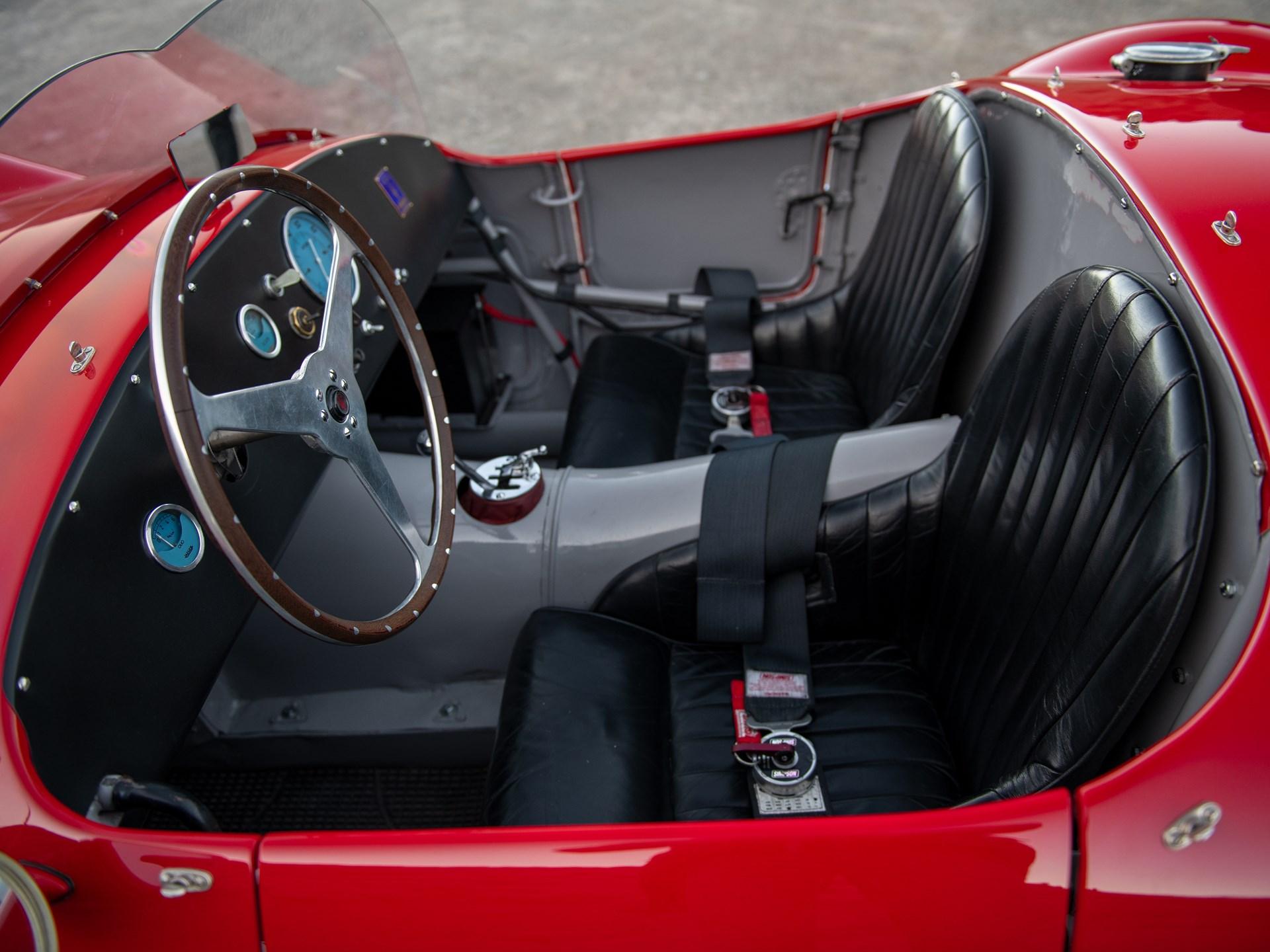 1954 Maserati A6GCS by Fiandri & Malagoli interior