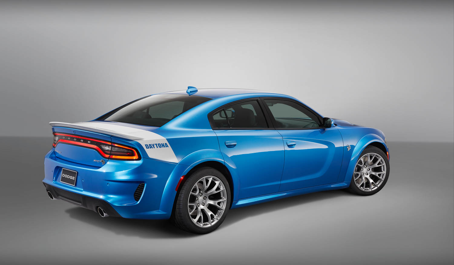 2020 Charger SRT Hellcat Widebody Daytona 50th Anniversary Edition rear 3/4