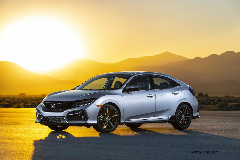 2020 Honda Civic Hatchback gets more tech, plus stick-shift for Sport Touring thumbnail