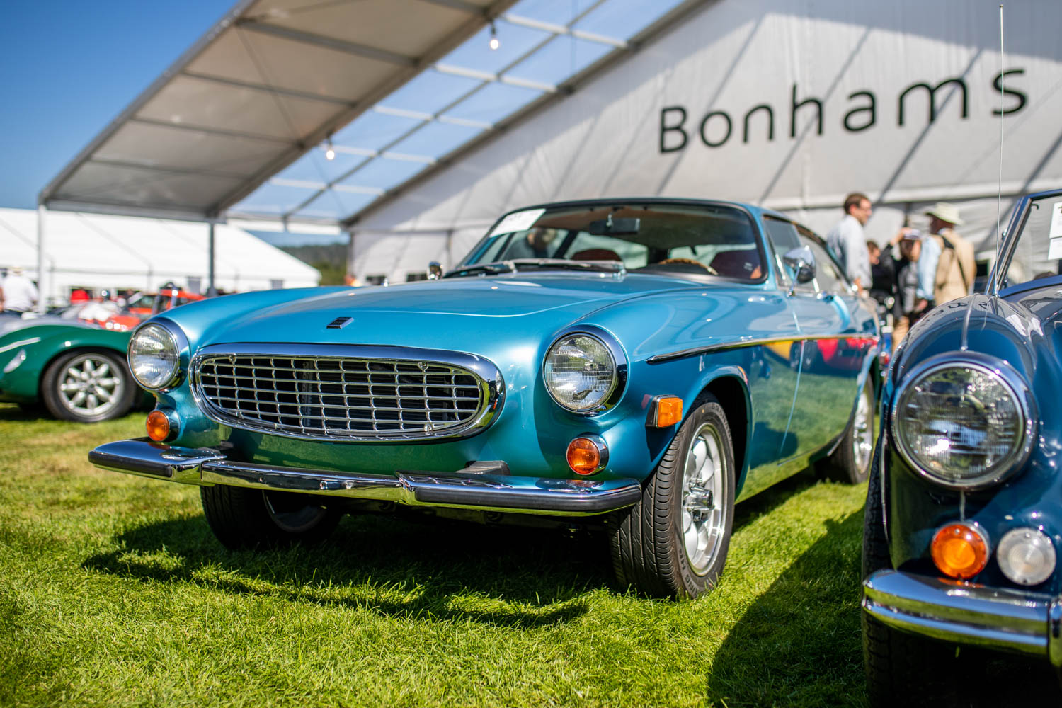 Here's why seeing 3 Volvo 1800s at Bonhams' Quail Auction is a big deal thumbnail