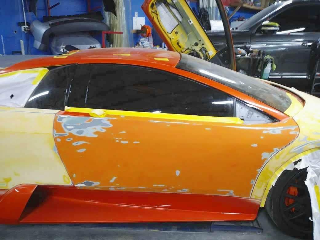 Lamborghini paint