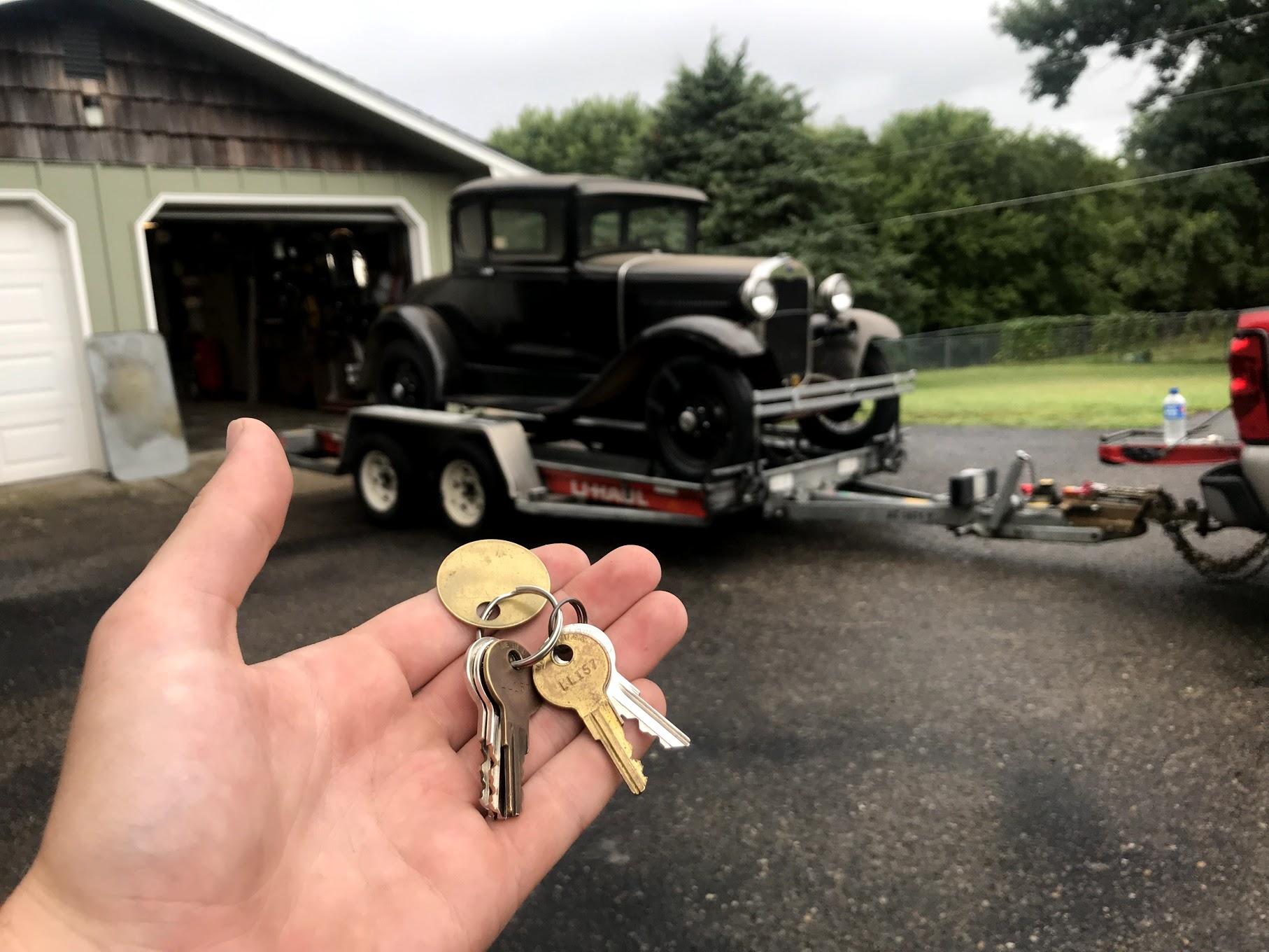 Project Model A keys