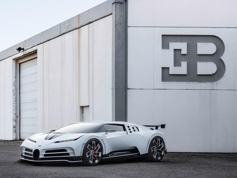 $9 million Bugatti Centodieci honors the EB110 supercar thumbnail