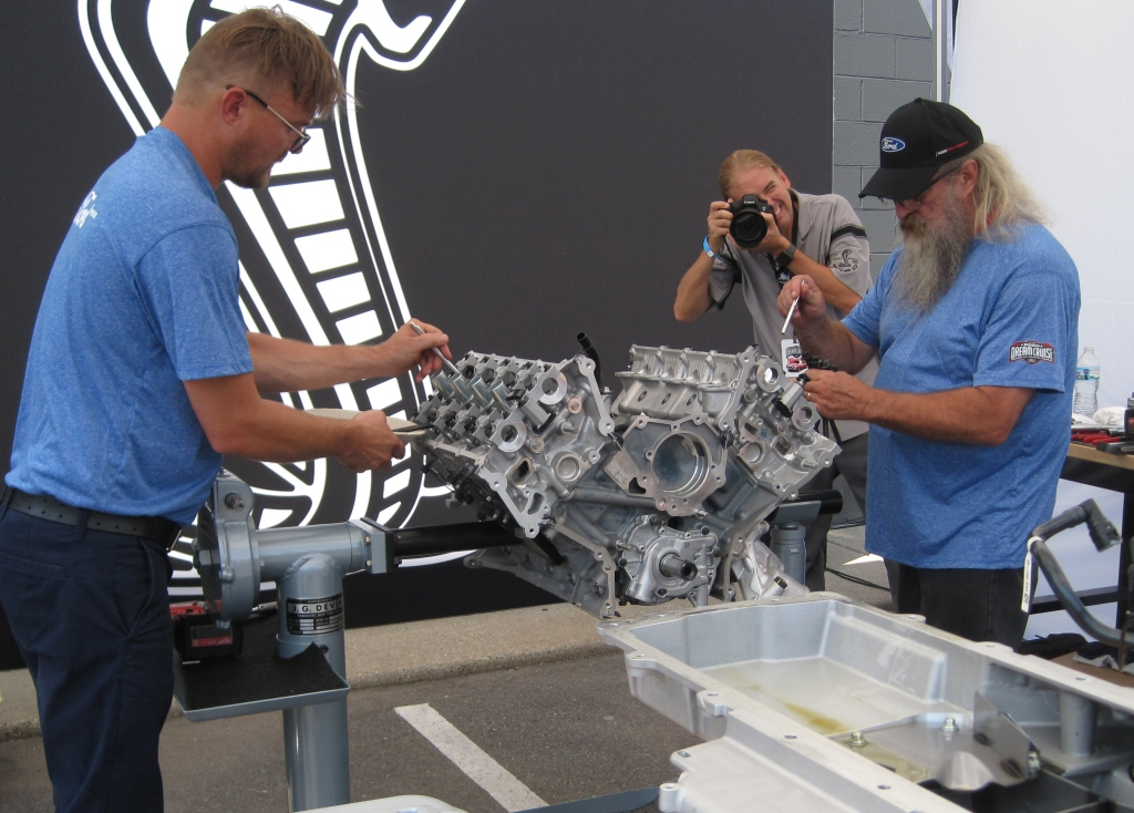 GT500 engine teardown