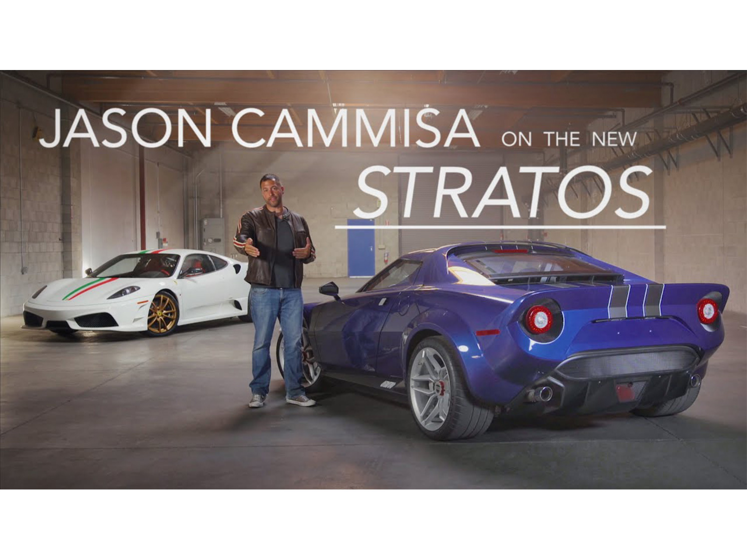 Driving the new Stratos is a singular experience thumbnail