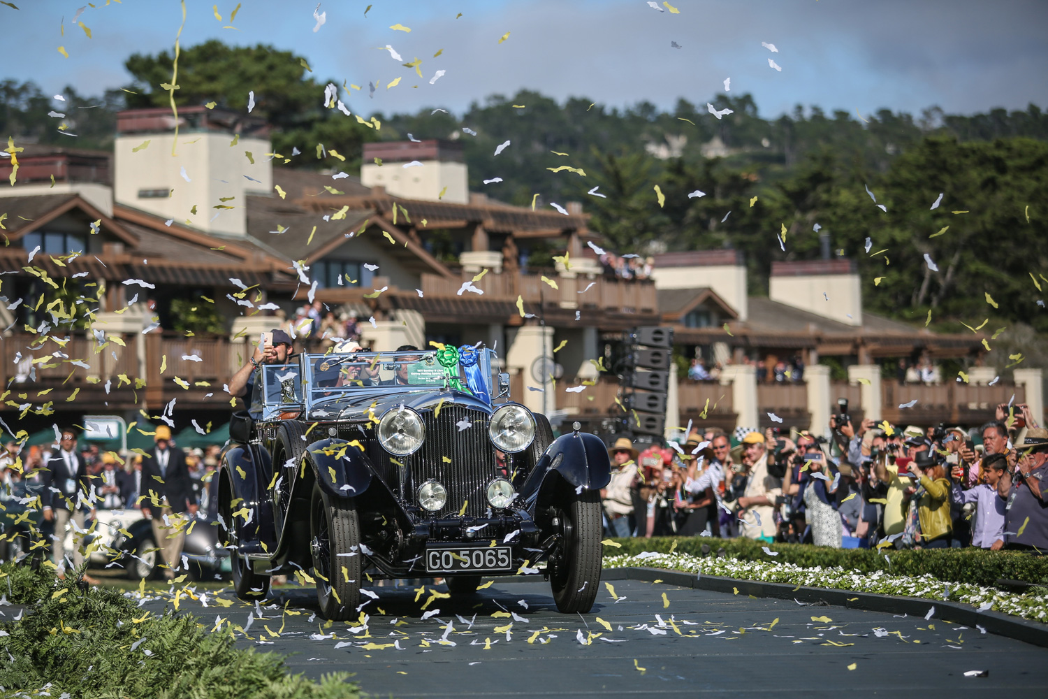 Stunning 1931 8 Litre Bentley wins 2019 Pebble Beach Concours Best in Show thumbnail