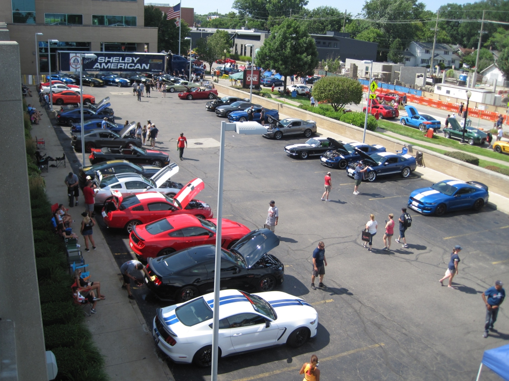 Woodward's Mustang Alley was more like a Mustang stampede thumbnail