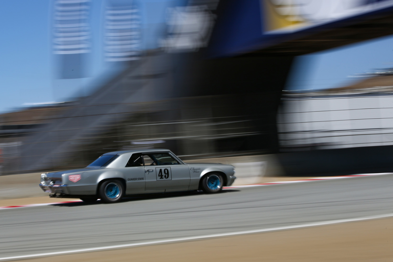 Grey Ghost Tempest Laguna Seca Rolex Historics
